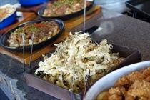10種以上の野菜料理 盛り放題 Fresh Vegetable Buffet1