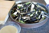 8種の野菜料理 盛り放題 Fresh Vegetables Dish Buffet1