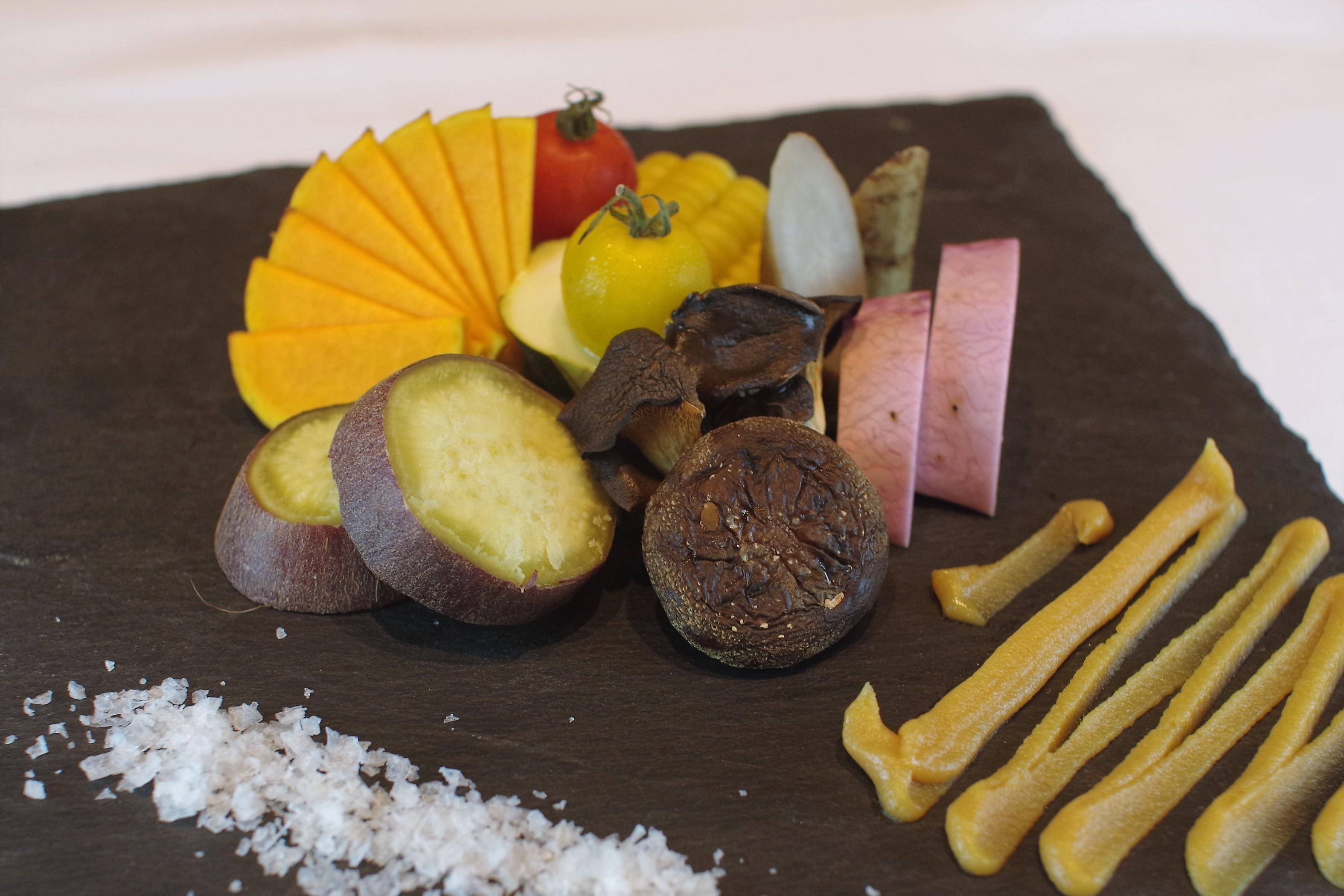 畑から届く、春秋の野菜料理4
